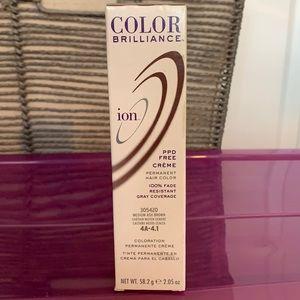 Ion Crème Permanent Hair Color. Shade 4A-4.1.